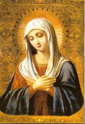 s01b-012 Пресвятая Богородица Умиление