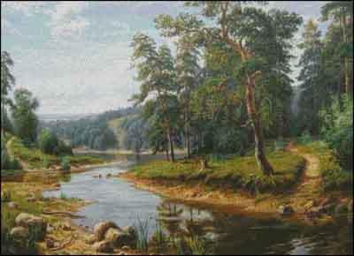 s04-028 Лесная речка