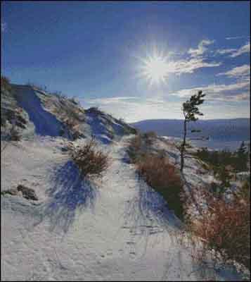 s04-141 Зимний пейзаж