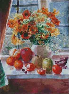 s05-011 Натюрморт с фруктами