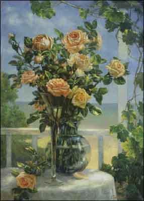 s05-227 Розы на террасе