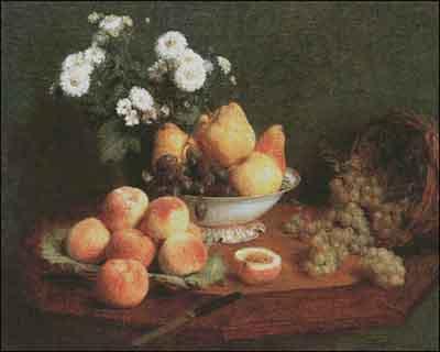 s05-260 Натюрморт с фруктами