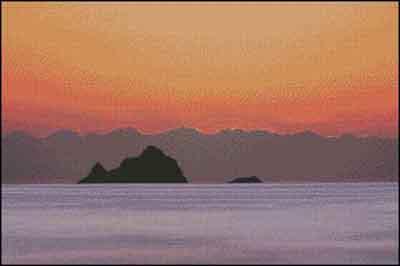 s09-027 Морской пейзаж