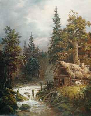 s100-031 Старая мельница