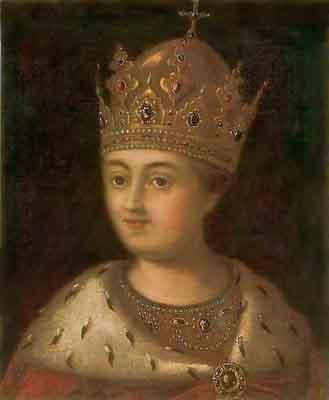 s16-005 Портрет царицы Софьи