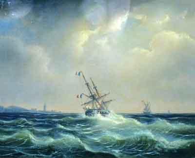 s22-003 Морской пейзаж