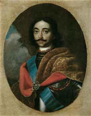 s27-002 Портрет Петра I
