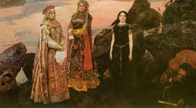s29-013 Три царевны подземного царства