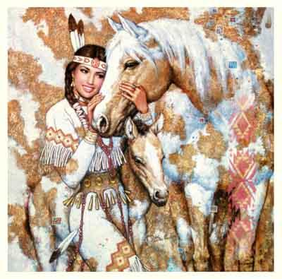 s60-002 s60-002 Девушка и лошадь