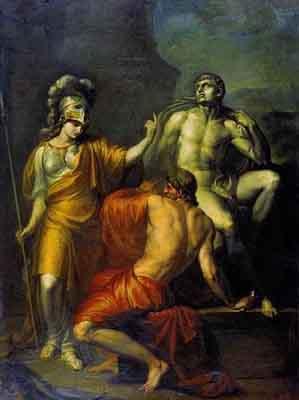 s36-006 Прометей делает статую