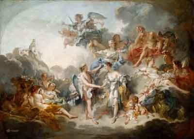 s39-016 Брак Амура и Психеи