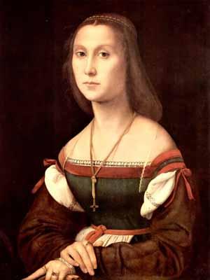s64-012 Портрет молодой женщины