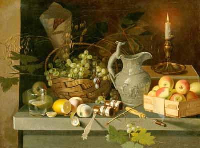 s98-008 Плоды и свеча
